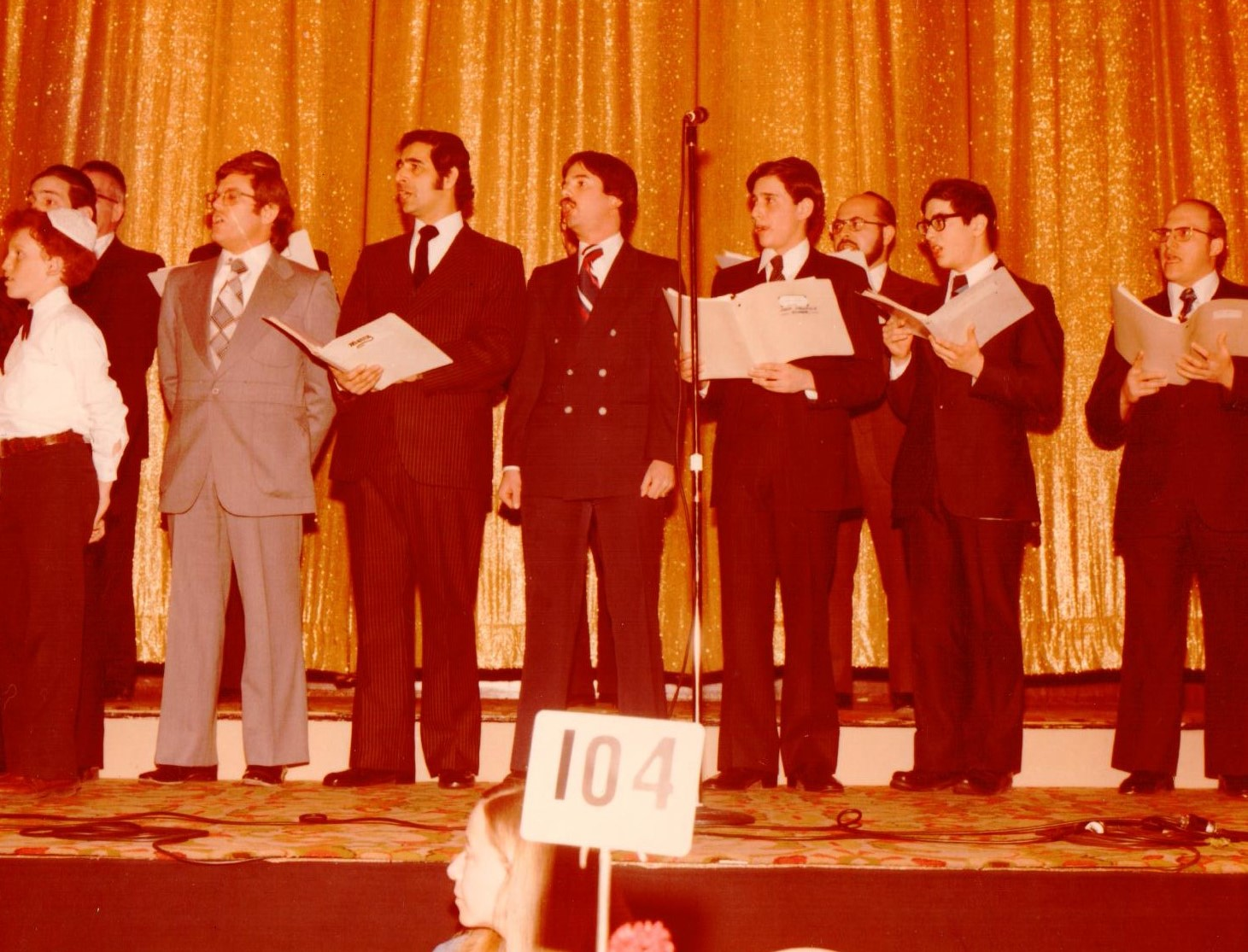 Choir of KAJ Yeshiva Dinner 1984